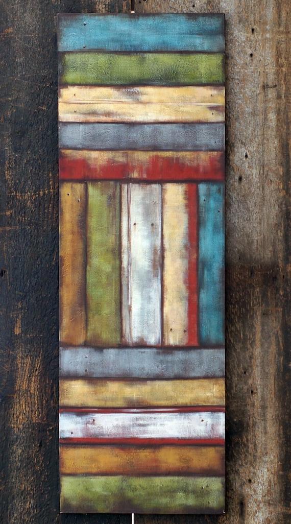 Items Similar To Large Abstract Art Original Acrylic