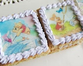 WINNIE the POOH edible images for cookie decoration (wafer paper)