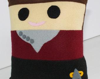 Star Trek Captain Kathryn Janeway Mini Felt Cushion