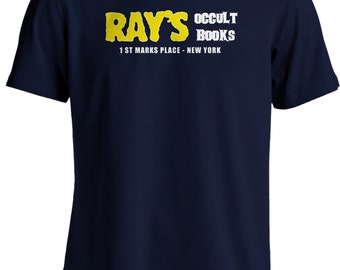 Ghostbusters II- Ray's Occult Books Movie T-shirt