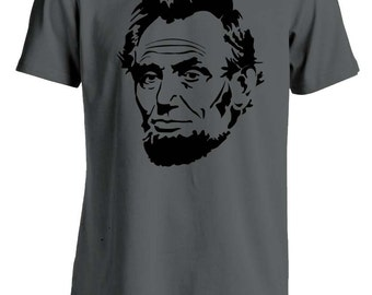 Abraham Lincoln T-Shirt Charcoal