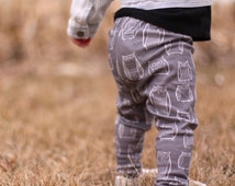 Organic Baby and Toddler Leggings -Little Owls