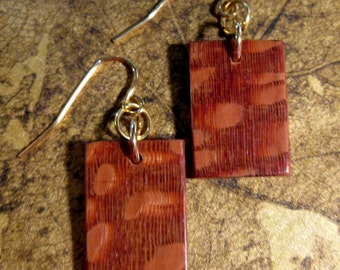 Lacewood Earrings