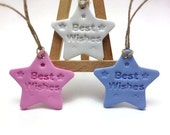 Best Wishes Tag, Gift Tags, Wish Tree Wedding Tags, Baptism Favors, Wedding Favors, Wedding Wish Tags, Pack of 10 or 25