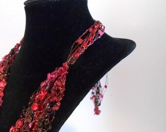 Trellis Necklace/ Crochet Necklace Item No. M7