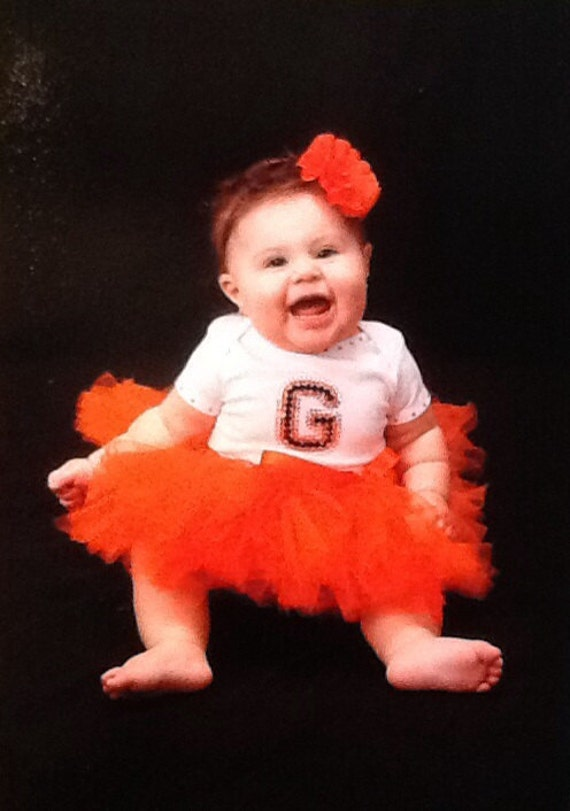 San Francisco Giants Inspired Baby Tutu Outfit