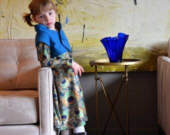 Winnie Shrug Girls' Sewing Pattern: 3-6m, 6-12m, 12-18m, 18m-2, 3-4, 5-6, 7-8, 9-10  (PDF Digital Pattern)