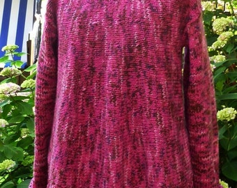 Tunic sweater  tunic oversize L-xxl