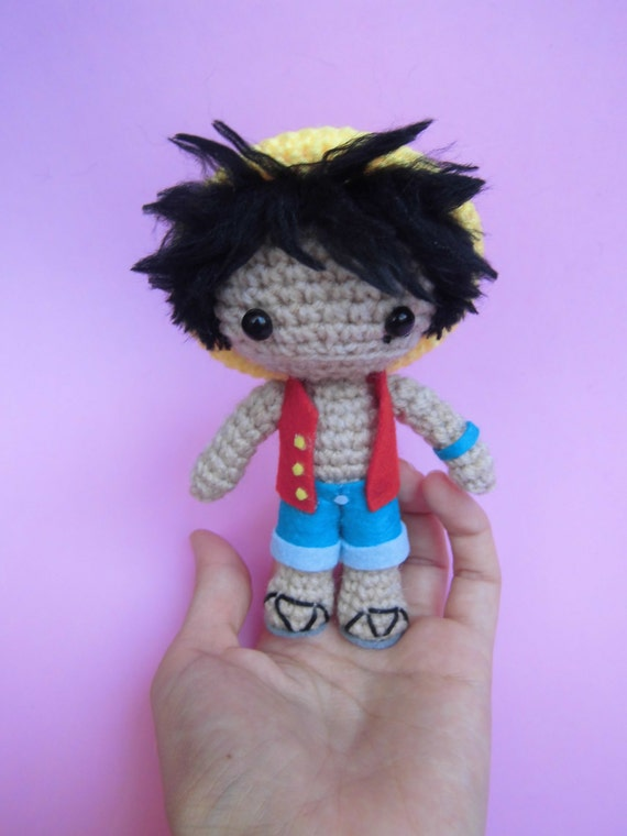 Items similar to Luffy amigurumi - One Piece on Etsy