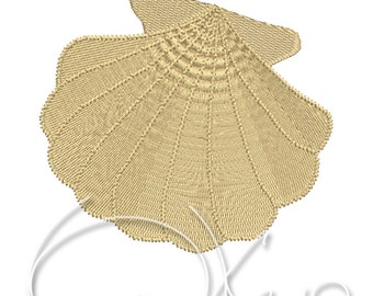MACHINE EMBROIDERY FILE - Sea shell