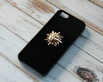 iPhone 5 Sun Case Hippie iPhone Hipster Case S4 Case Case Sun S4 Case Sun Handmade iPhone 5 Case Handmade S4 Case iPhone 6 Plus