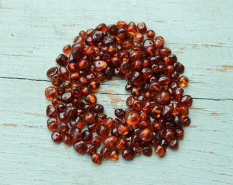 Special offer 500 Pcs. Baltic Amber Loose Beads 4-6 mm