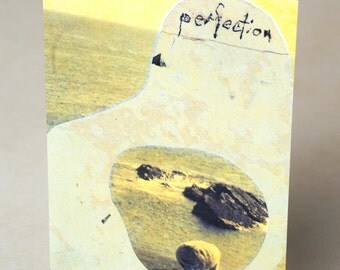 """Blank card - """"Perfection"""""""