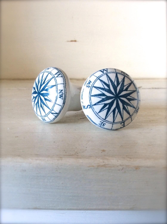 Nautical Decorative Knob Ceramic Knob Decorative Knob