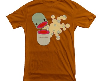 Happy Pill T-shirt Acid Drugs Psychedelic