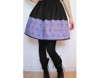 Haunted Mansion Wallpaper Skirt- LAST ONE -  Fabric No Longer Available Fully Lined - Handmade