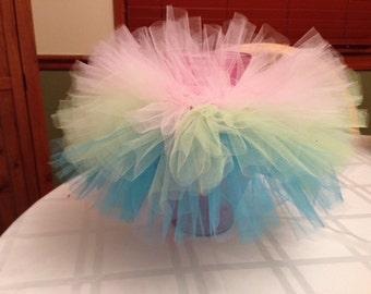Cupcake Tutu, Birthday Tutu, Infant Tutu, Photo Prop, Pink Tutu, Green Tutu, Blue Tutu