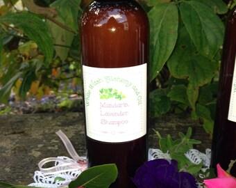 Organic Shampoo Mandarin Lavender    White Witch Alchemy