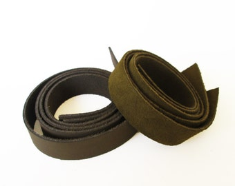 Pair Leather straps, leather purse straps, Leather handles, Bag Straps, Craft supplies, Leather strap