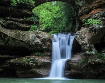 Waterfall in Hocking Hills Ohio