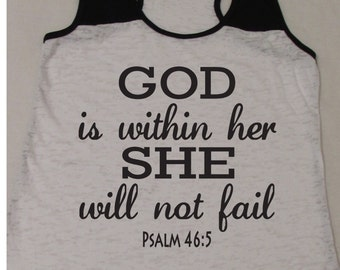 Strength in god kind of faith