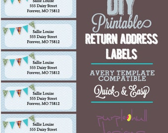 mailing address labels template