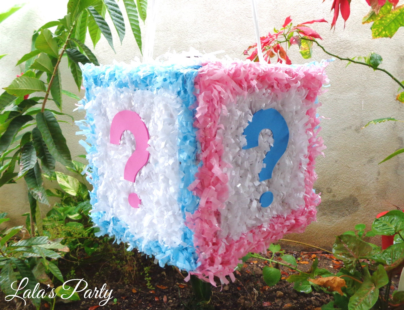 Gender Reveal Cube Hit Pinata Baby Shower by LaLasParty on ...