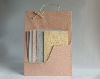 Letter papers in rice paper