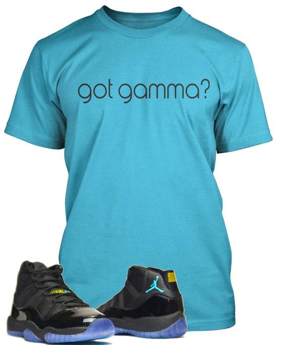 408adec17212 ... Gamma Blue Jordan 11 Shirt Streetwear Brand Miami Store ...