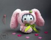 Pink Bunny Doll. Tanoshi series toy.