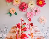 Colorful Honeycomb Table Runner