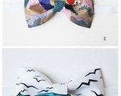 18 fabrics to choose Lost in Kyoto collection vintage style Japanese traditional painting bow tie