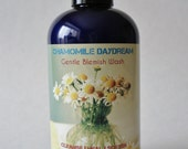 Natural Cleanser Blemish Face & Body Wash 8 oz Liquid Soap CHAMOMILE DAYDREAM Gentle Herbal Tea Tree Oatmeal