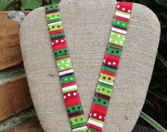JINGLES Holiday Fashion Lanyard