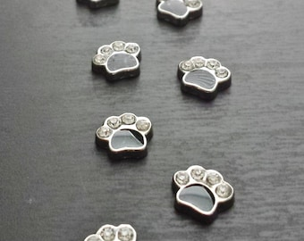 Dog Paw Floating Charm for Floating Lockets-Gift Idea