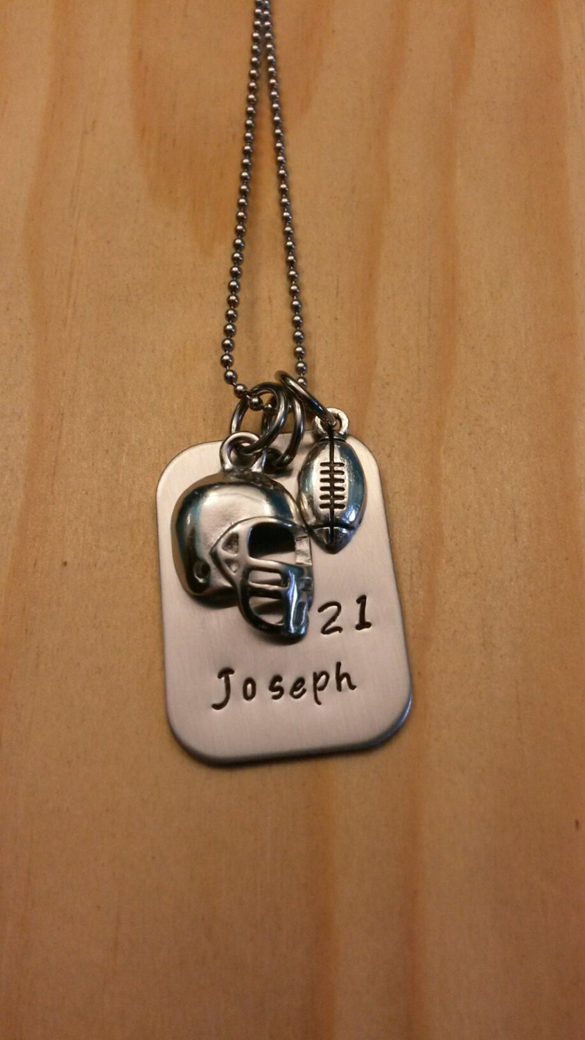 Hand stamped necklace personalized jewelry by for How to make hand stamped jewelry