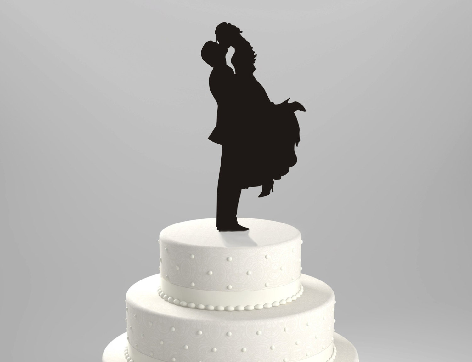silhouette cake topper wedding cake topper silhouette groom lifting his by 7369