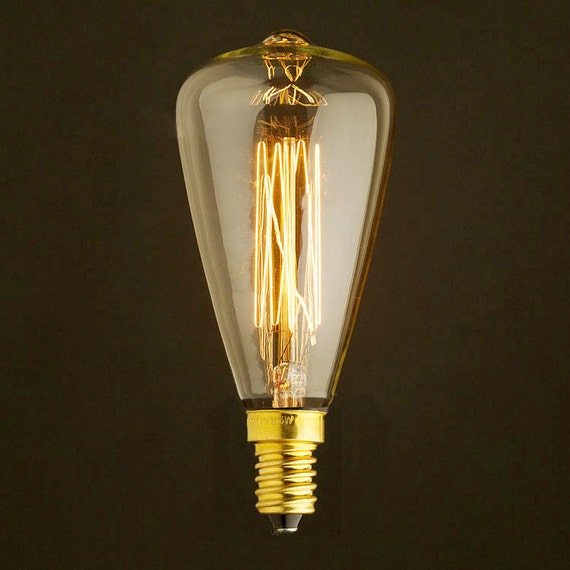 edison e14 squirrel cage filament ampoule avec garniture de. Black Bedroom Furniture Sets. Home Design Ideas