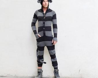 BROWN BEAR Festival PJ's for Adults One Piece Jumpsuit