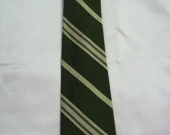 Vintage All Silk Skinny Necktie by Briar