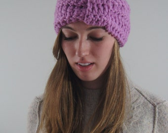 CROCHET PATTERN/ Crochet Turban Headband Pattern