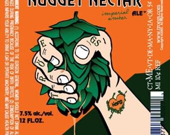 """Nugget Beer Hops Vine - Humulus - Grow your own Beer! - 4"""" Pot"""