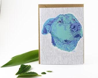 Labrador Retriever Card