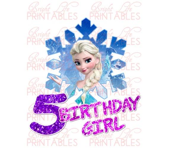 Happy Th Birthday Cake Frozen