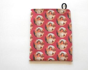 Vintage Nurse Cherry Ames: Dude Ranch Nurse - Nurse Gift Bag, Nurse Fabric Bag, Drawstring Pouch with Vintage Nurse Images