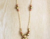 African Cross Necklace