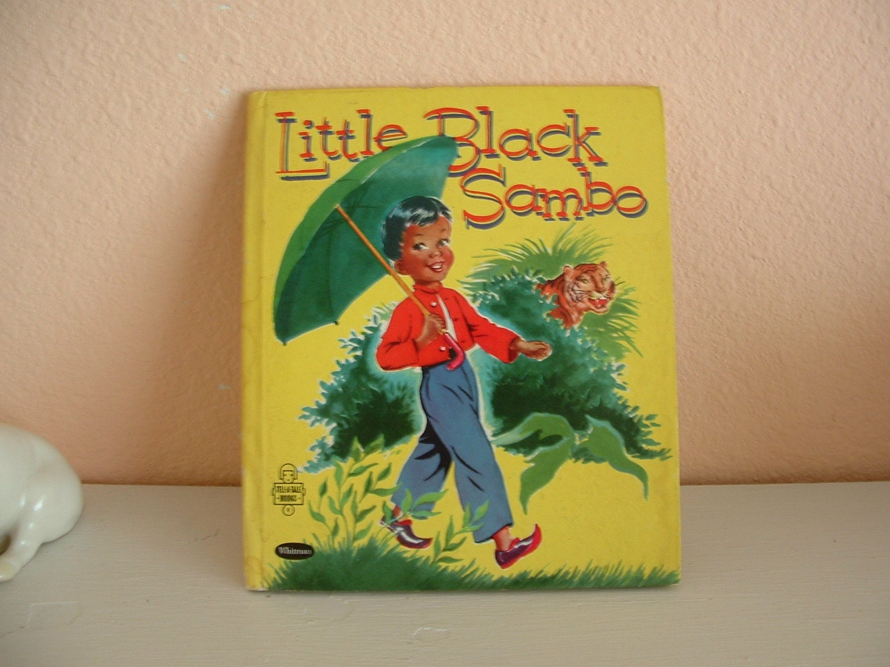 Little Black Sambo Children's Book by Gladys Turley