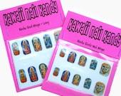 Hindu Gods Nail Wraps / Nail Decals / Nail Art