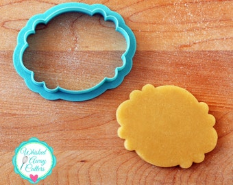 The Trinnie Plaque Cookie Cutter and Fondant Cutter
