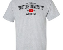 For all those that learned something from Youtube you're now a youtube alumni from the University